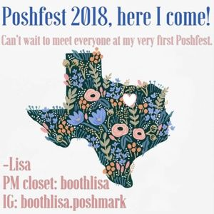 Poshfest 2018 Dallas - I hope to meet you there!